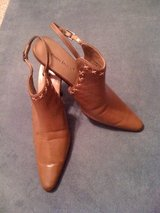 REDUCED!Pierre Dumas,real leather, brown sandales ,size 8 in Leesville, Louisiana