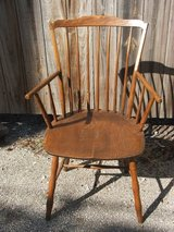 Antique Oak Armchair in Aurora, Illinois