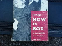 How to Box (112 page booklet) 1978 in Alamogordo, New Mexico