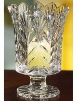 led crystal vase candle hurricane in Cherry Point, North Carolina